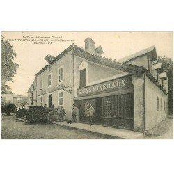 carte postale ancienne 82 FENEYROLS-LES-BAINS. Etablissement Thermal. Hôtel des Sources Bains Minéraux .
