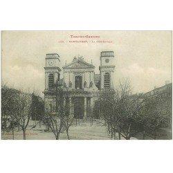 carte postale ancienne 82 MONTAUBAN. La Cathédrale 1904