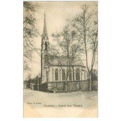 carte postale ancienne 82 MONTAUBAN. La Chapelle Saint-Théodard vers 1900