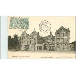 carte postale ancienne 82 MONTAUBAN. La Préfecture du Tarn-et-Garonne 1905