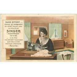 carte postale ancienne 82 MONTAUBAN. Machine à coudre Singer Magasin au 39 rue Saint-Louis