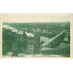 carte postale ancienne 82 MONTAUBAN. Vue Panoramique sur la Ville