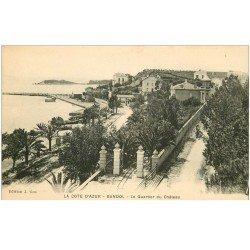 carte postale ancienne 83 BANDOL. Le Quartier du Château