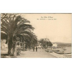 carte postale ancienne 83 BANDOL. Quai du Midi