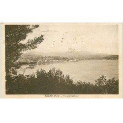 carte postale ancienne 83 BANDOL. Vue panoramique 1934