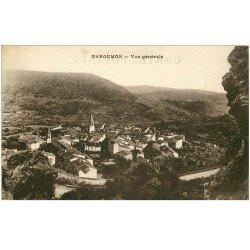 carte postale ancienne 83 BARGEMON. Le Village