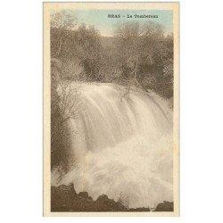 carte postale ancienne 83 BRAS. Le Tombereau 1932