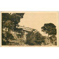 carte postale ancienne 83 CARQUEIRANNE. Hôtel Beau Rivage 1931