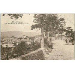 carte postale ancienne 83 DRAGUIGNAN. Paysannes Route de Grasse 1915