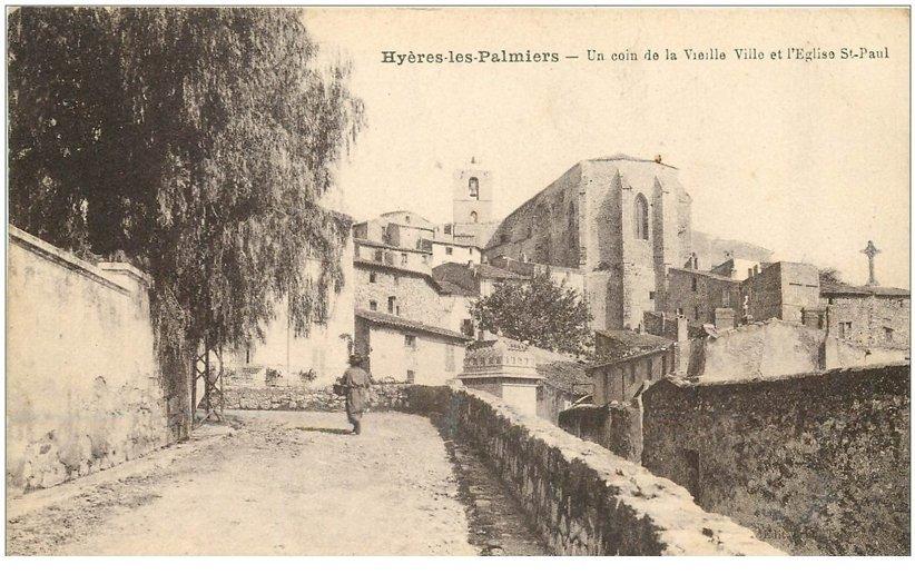 83 hyeres les palmiers vieille ville et eglise saint paul - Piscine hyeres les palmiers ...