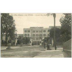 carte postale ancienne 83 HYERES. Grimm's Parc Hôtel