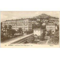 carte postale ancienne 83 HYERES. La Ville Haute