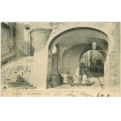 carte postale ancienne 83 HYERES. Rue Saint-Paul