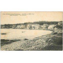 carte postale ancienne 83 SAINT-CYR-SUR-MER. Les Lecques 1928