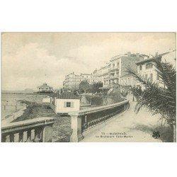 carte postale ancienne 83 SAINT-RAPHAEL. Boulevard Félix Martin 1905
