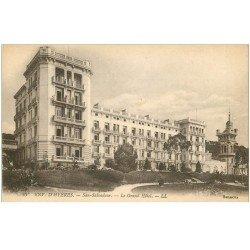 carte postale ancienne 83 SAN-SALVADOUR. Le Grand Hôtel