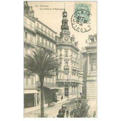 carte postale ancienne 83 TOULON. Caisse d'Epargne 1906