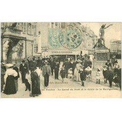 carte postale ancienne 83 TOULON. Carré du Port Génie de la Navigation 1905