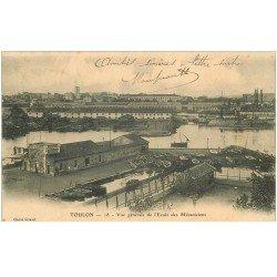 carte postale ancienne 83 TOULON. Ecole des Mécaniciens 1903