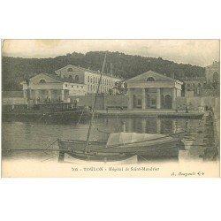 carte postale ancienne 83 TOULON. Hôpital de Saint Mandrier