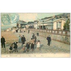 carte postale ancienne 14 HOULGATE. Casino Digue 1906