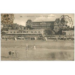 carte postale ancienne 14 HOULGATE. Casino et Grand Hôtel 1931