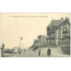 carte postale ancienne 14 HOULGATE. Digue Promenade. BF Paris