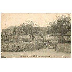 carte postale ancienne 14 HOULGATE. Ferme Lavolley 1905