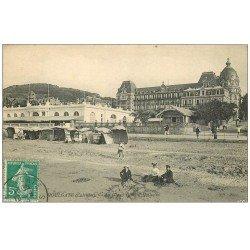 carte postale ancienne 14 HOULGATE. Grand Hôtel Casino 1910