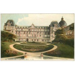 carte postale ancienne 14 HOULGATE. Le Grand Hôtel 1910