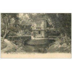 carte postale ancienne 14 HOULGATE. Le Moulin Landry 1924