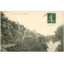 carte postale ancienne 86 BLOSSAC. Vue du Clain sous Blossac 1907