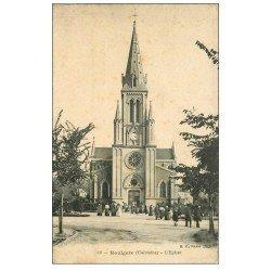 carte postale ancienne 14 HOULGATE. L'Eglise 1909