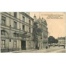 carte postale ancienne 86 CHATELLERAULT. Hôtel Univers et Moderne