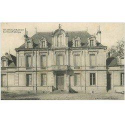 carte postale ancienne 86 CHATELLERAULT. La Sous Préfecture