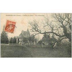 carte postale ancienne 86 CHENEVELLES. Château du Souci vers 1910