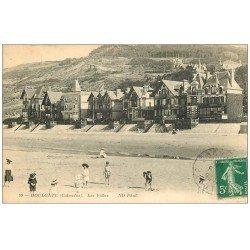 carte postale ancienne 14 HOULGATE. Les Villas 1915