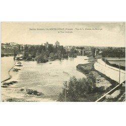 carte postale ancienne 86 LA ROCHE POSAY. Barrage sur la Creuse