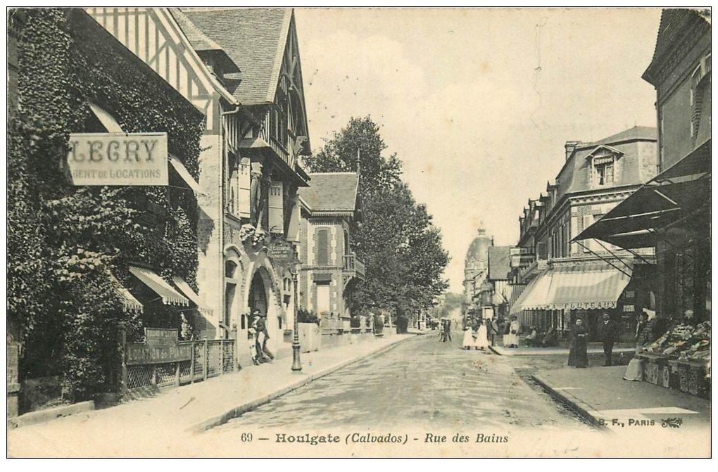 14 houlgate locations legris rue des bains 1908 for Rue des bains