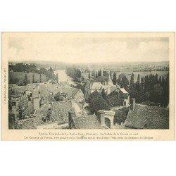 carte postale ancienne 86 LA ROCHE POSAY. Vallée Creuse Coteaux du Poitou et Touraine