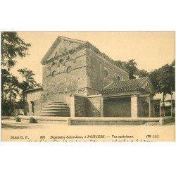 carte postale ancienne 86 POITIERS. Baptistère Saint-Jean