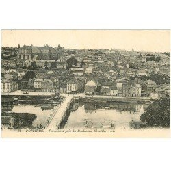 carte postale ancienne 86 POITIERS. Boulevard Aboville 1924
