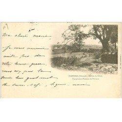 carte postale ancienne 86 POITIERS. Carte Pionnière 1901 Vallée du Clain du Plateau du Porteau
