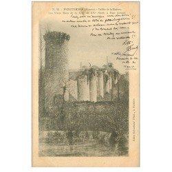 carte postale ancienne 86 POITIERS. Carte Pionnière 1904 Vieux Murs de la Ville à Pont Achard Vallée de la Rouvre