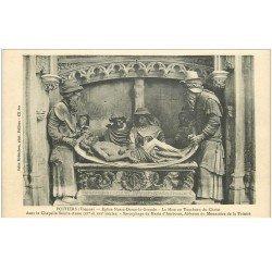 carte postale ancienne 86 POITIERS. Eglise Notre Dame la Grande Chapelle Sainte Anne