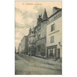 carte postale ancienne 86 POITIERS. La Prévoté 1910 Magasin Girault Vitrerie Peinture Papiers Peints