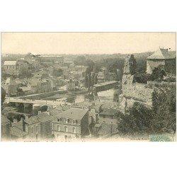 carte postale ancienne 86 POITIERS. Le Rocher de Coligny 1906