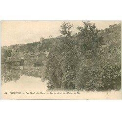 carte postale ancienne 86 POITIERS. Les Bords du Clain