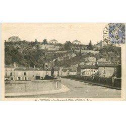 carte postale ancienne 86 POITIERS. Les Casernes Ecole Artillerie 1933