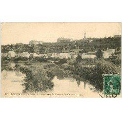 carte postale ancienne 86 POITIERS. Notre Dame des Dunes et Casernes 1916